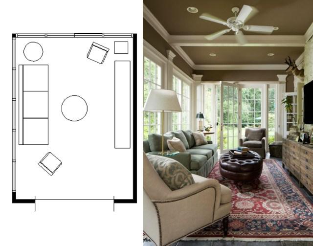narrow living room layouts 11
