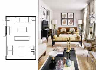 narrow living room layouts 6