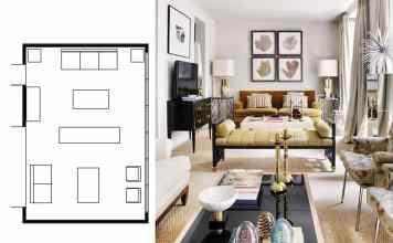 narrow living room layouts 6