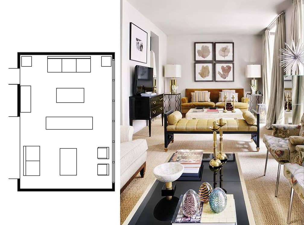 Diverse Ideas For Narrow Living Room Layouts. ...