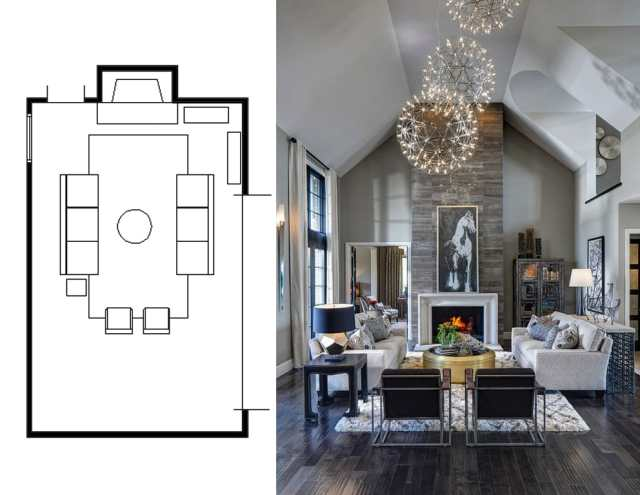 narrow living room layouts 7