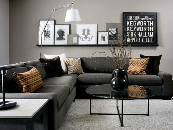 Decorating With Grey: Inspiring Grey Living Room Ideas ...