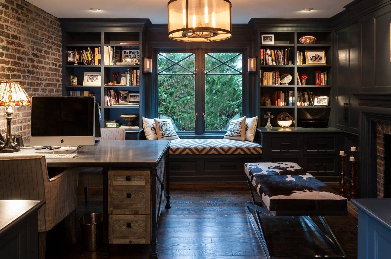 A Home Office With The Correct Seating