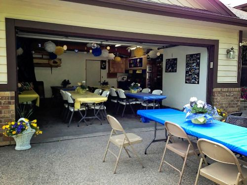 How To Decorate Garage For Graduation Party: 5 Ways For ... on Garage Decoration  id=11636