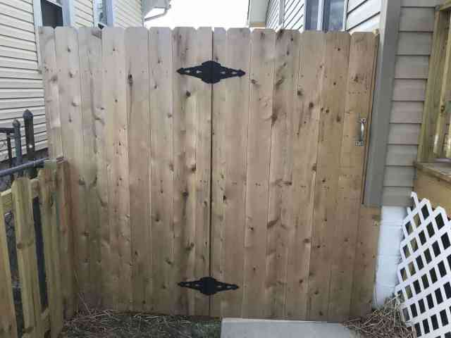 cedar fence company baltimore