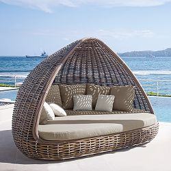 Skyline Design, Outdoor, Daybed, day bed, Shade ... on Belham Living Lilianna Outdoor Daybed id=68389