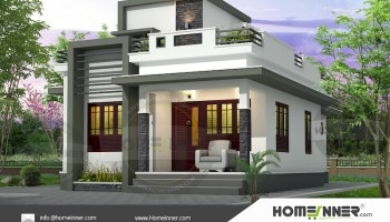 HIND-39988 House Front elevation