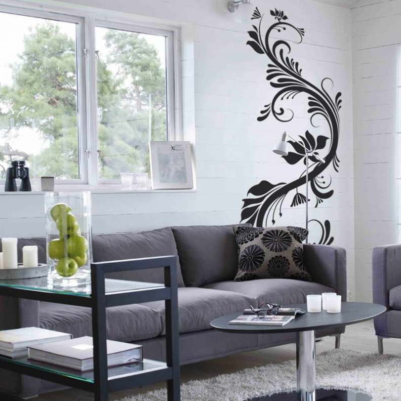 33 Wall Painting Designs To Make Your Living Room ... on House Painting Ideas  id=95029