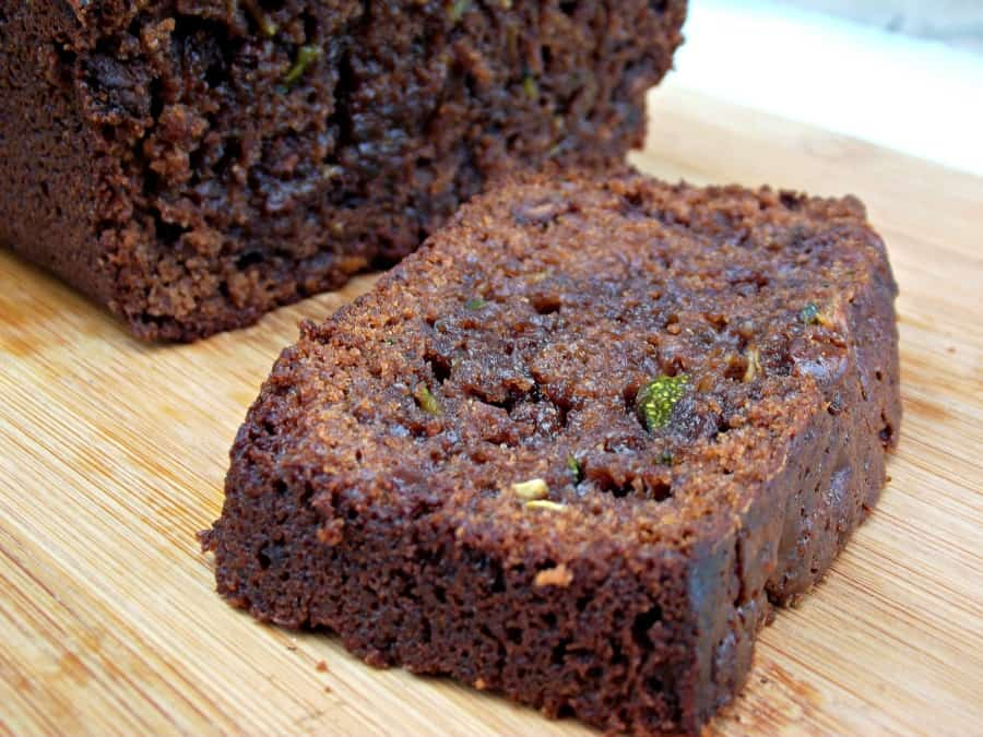 Double Chocolate Zucchini Bread Gluten Free