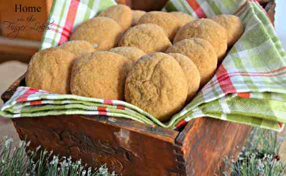 Big Soft Ginger Cookies-Home in the Finger Lakes