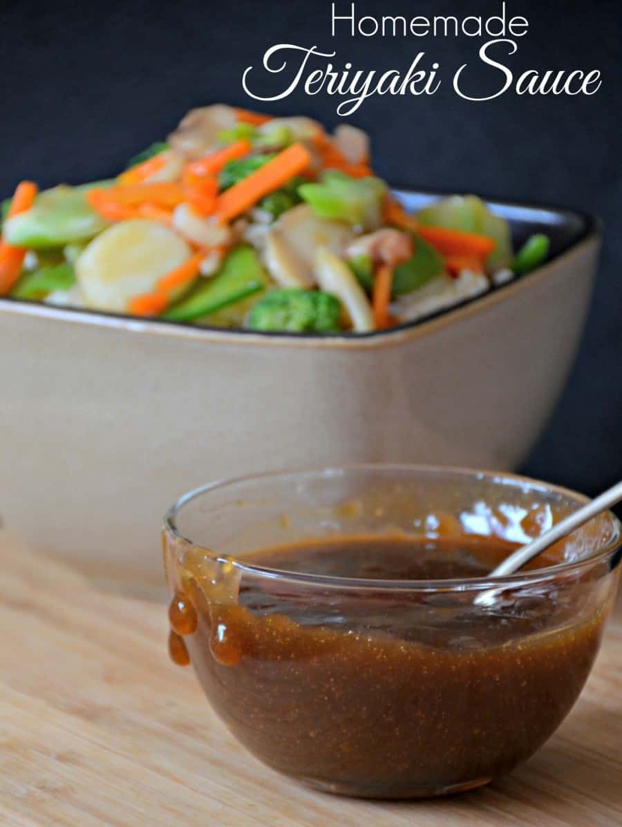 how to make easy homemade teriyaki sauce