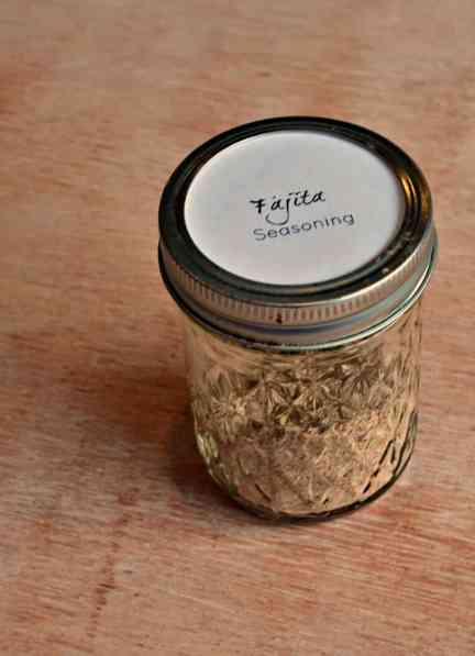 Homemade Chicken Fajita Seasoning Recipe- Home in the Finger Lakes