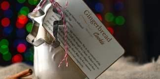 Gingerbread Cookie Gift Jar