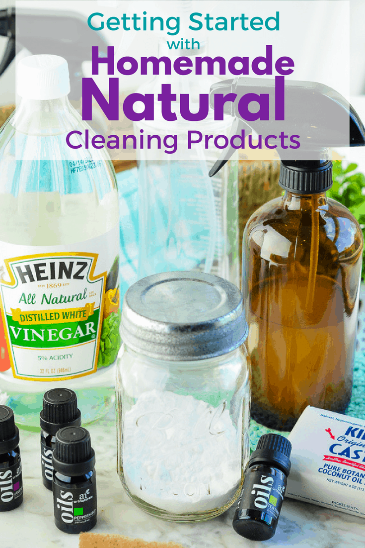 If you want to switch from store-bought products to safer homemade cleaners this guide will help you get the right start!