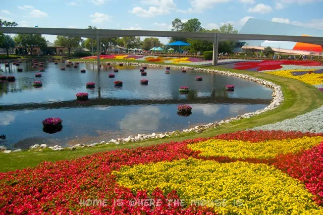 The Floral Landscape is an incredible sight at Epcot's International Flower & Garden Festival
