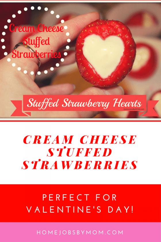 Valentines Day Treats: Stuffed Strawberry Hearts Recipe