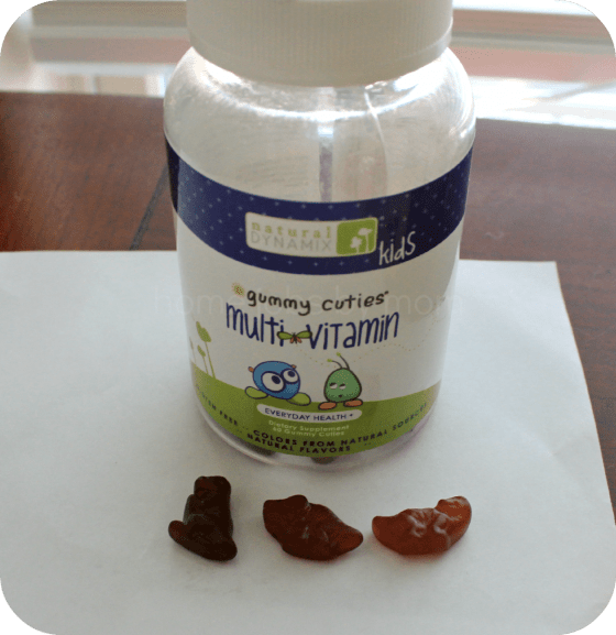 Natural Dynamix Kids Gummy Cuties Multivitamins Review