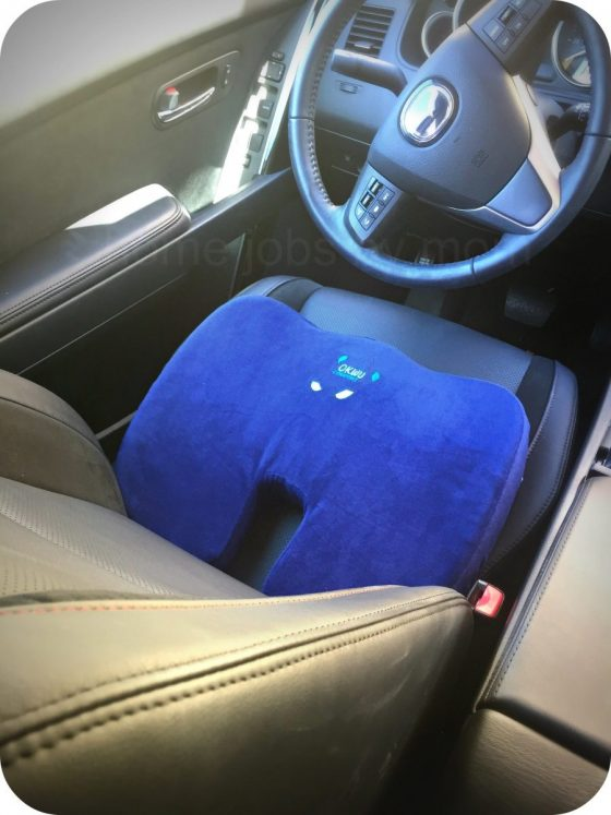 Have a Pain in the A**?   Okwu Comfort Pressure Relief #SeatCushion Review