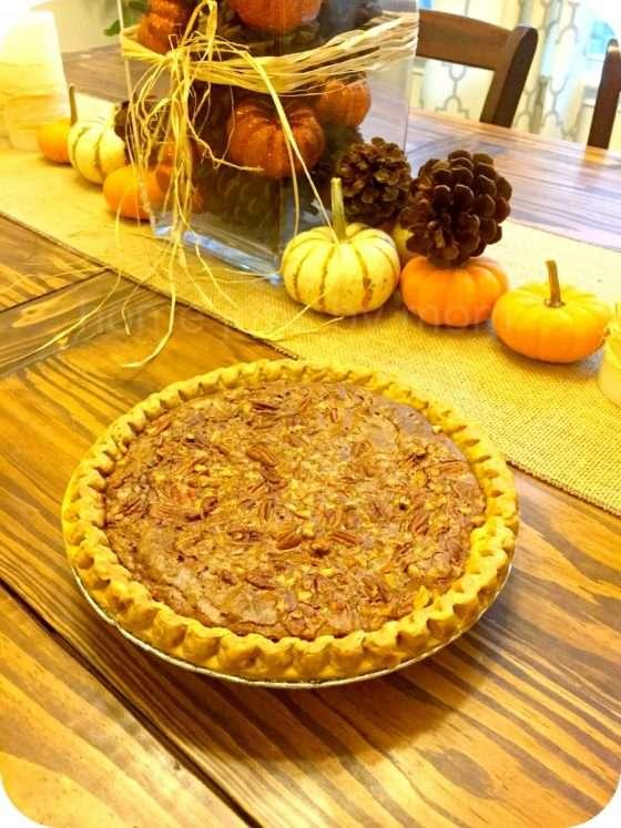 Is that a Pecan Pie? No, It's a Deep Dish Fudge Pecan Pie!