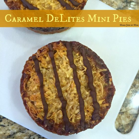 Caramel DeLites Mini Pies