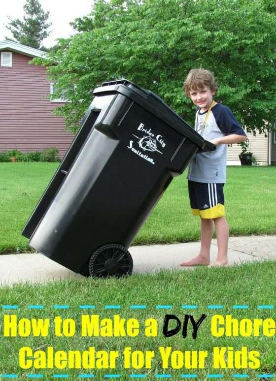 How to Make a DIY Chore Calendar for Your Kids