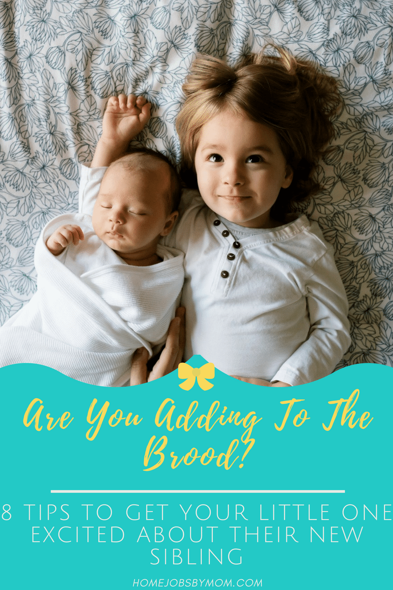 8 Tips To Get Your Little One Excited About Their New Sibling