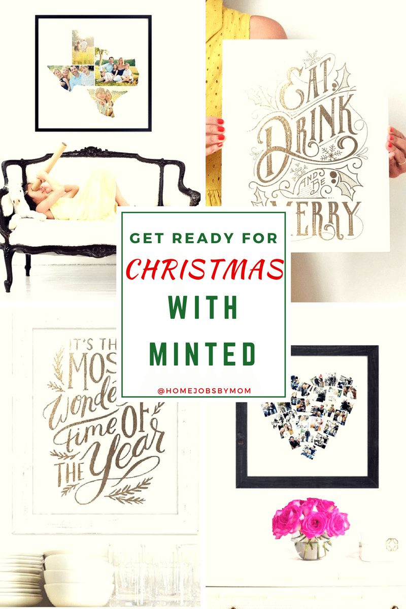 Get Ready For Christmas With Minted
