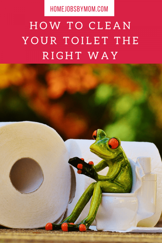 How To Clean Your Toilet The Right Way