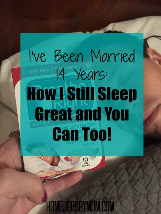 I've Been Married 14 Years: How I Still Sleep Great and You Can Too!