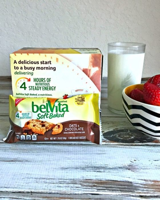 5 Healthy Ways To Boost Energy With belVita Biscuits back of box