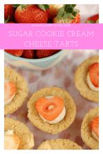 Sugar Cookie Cream Cheese Tarts
