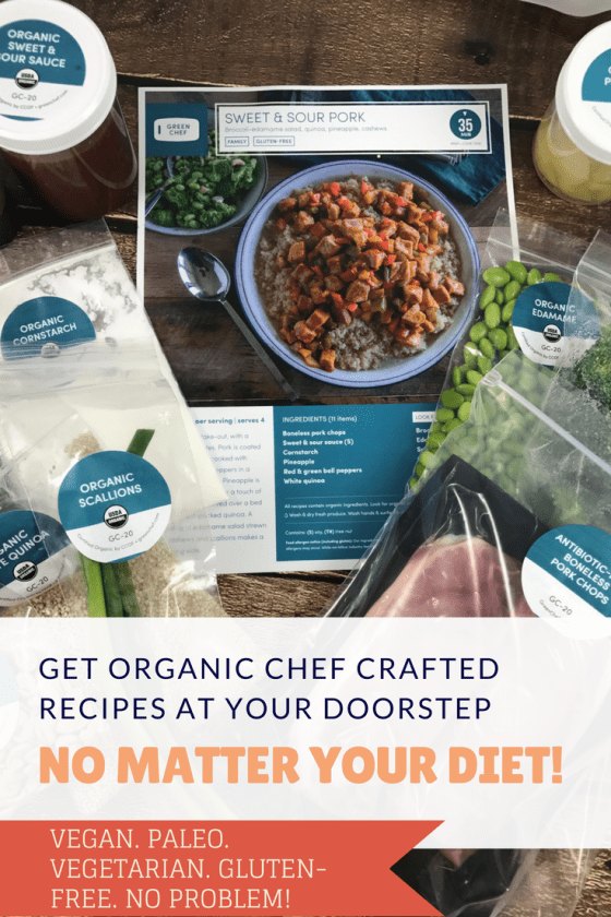 Get Organic Chef Crafted Recipes At Your Doorstep No Matter Your Diet #MomsMeet