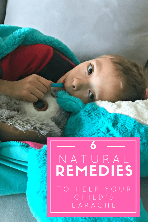 6 Natural Remedies To Help Your Child's Earache