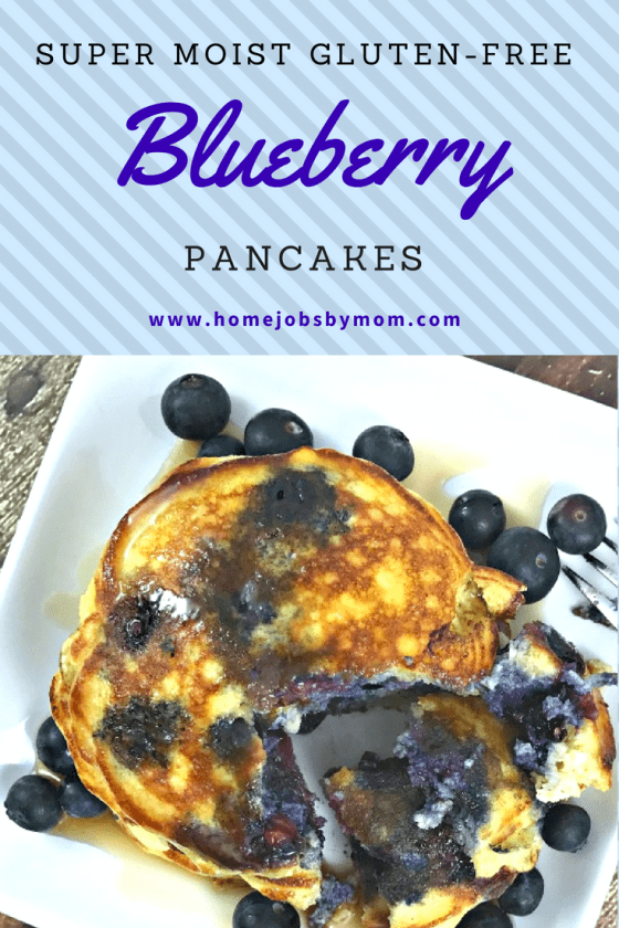 Super Moist Gluten-Free Blueberry Pancakes + Coco Treasure Giveaway