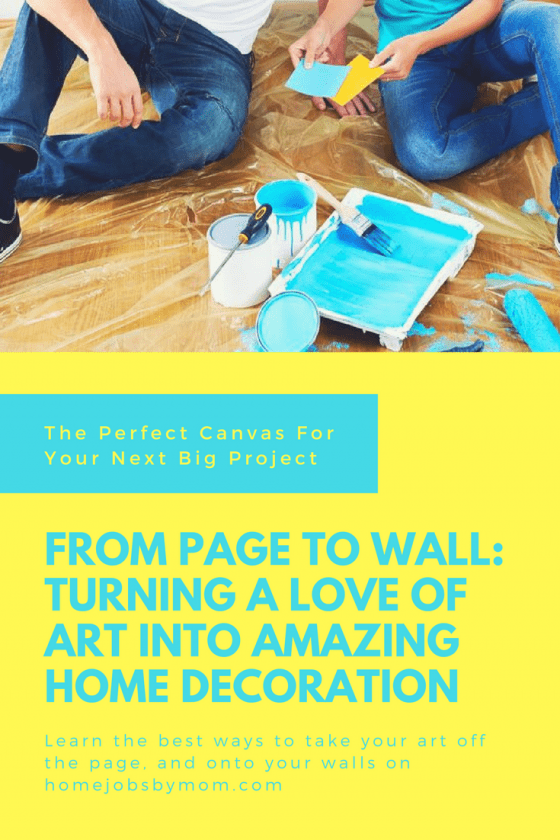 From Page To Wall: Turning A Love Of Art Into Amazing Home Decoration