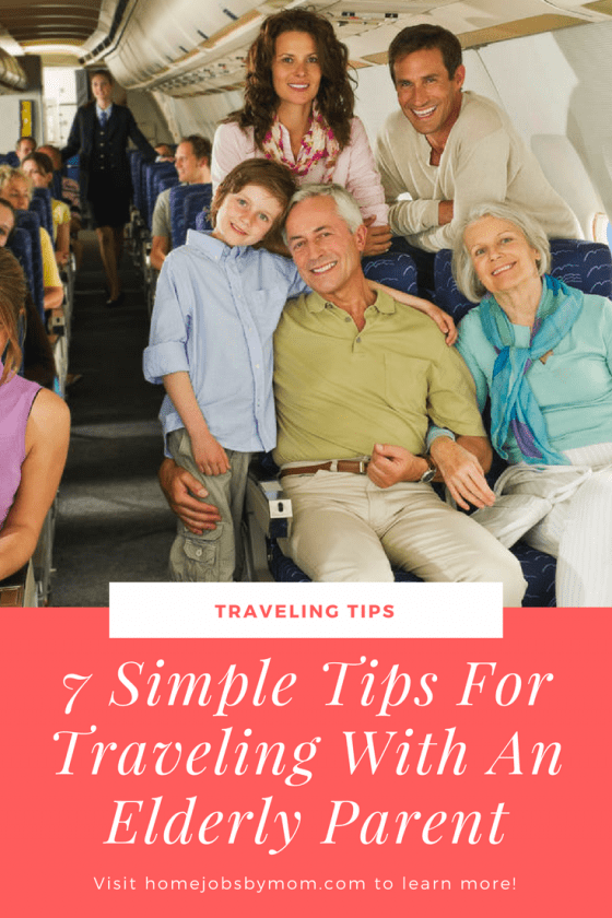 7 Simple Tips For Traveling With An Elderly Parent
