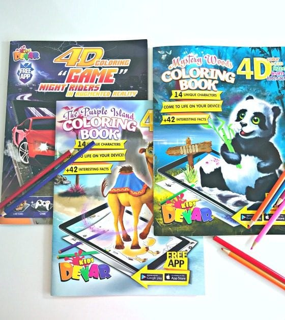 Play With Bookz coloring books