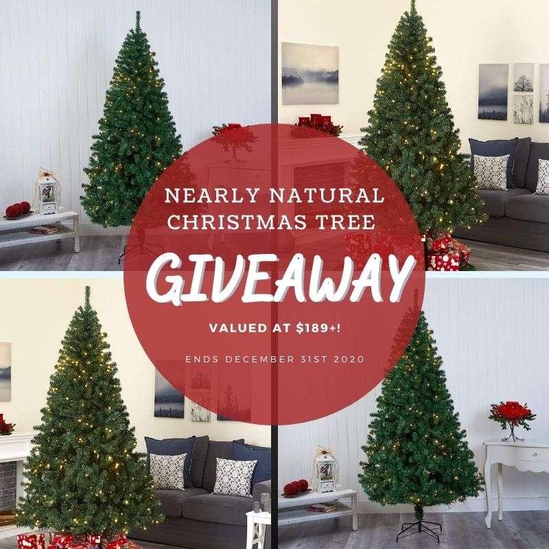 Nearly Natural Christmas Tree