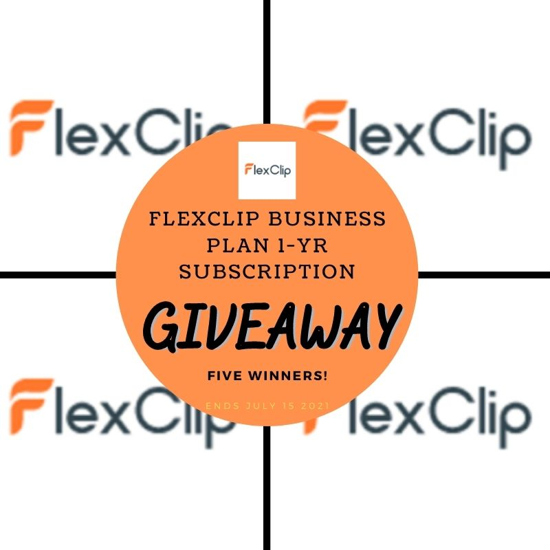 FlexClip Business Plan 1-Yr Subscription