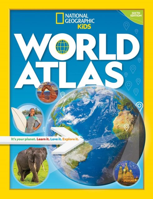 National Geographic Kids World Atlas 6th edition