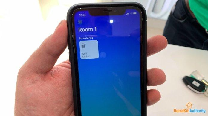 Avia smart lock HomeKit