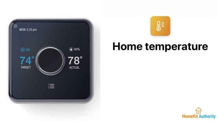 Hive HomeKit Siri shortcut for temp