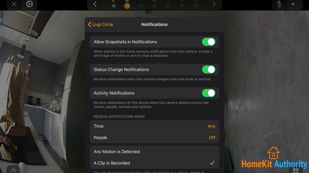 Circle 2 settings