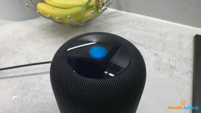 Siri support on HomePod