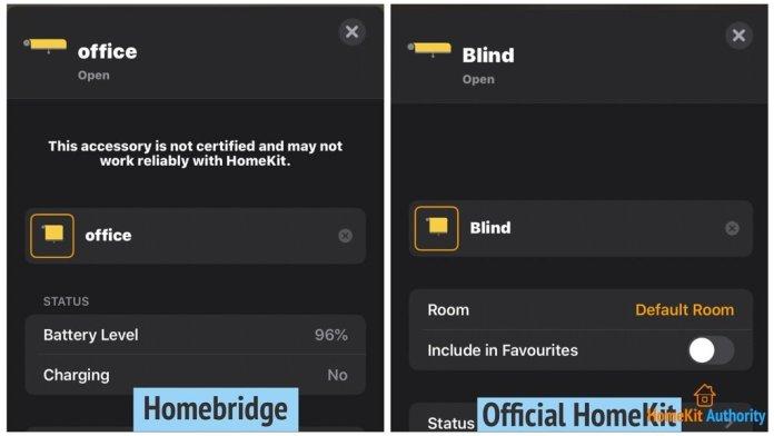 Homebridge vs HomeKit