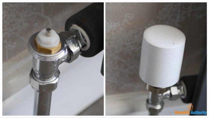 Tado smart radiator valve install