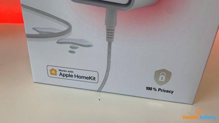 Eve Water guard HomeKit device