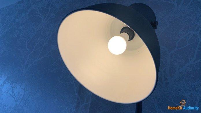 Ikea smart light on