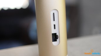 Netatmo smart indoor camera ports