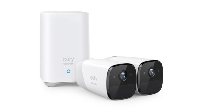 eufycam 2 HomeKit secure video